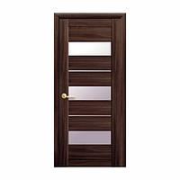 Межкомнатная дверь Новый стиль Лилу 700мм орех со стеклом