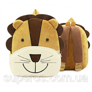 Дитячий плюшевий рюкзак Kakoo Лев