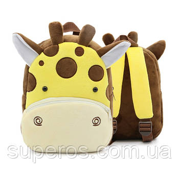Дитячий плюшевий рюкзак Kakoo Жираф (оригінал)