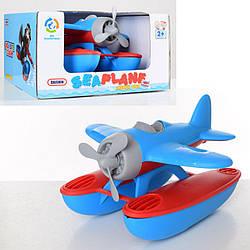 Детская игрушка для ванной Daishin Самолет экраноплан, синяя