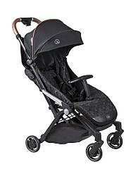 Прогулочная детская коляска Coletto Lanza black moro, черная (9637)