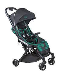 Прогулочная детская коляска Coletto Lanza, черно-зеленая (9636)