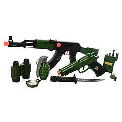 Детский игровой набор Yue giang военного, 9 предметов