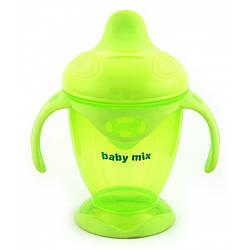 Детский поильник-непроливайка Baby Mix RA-C1-1711 200 ml, салатовый