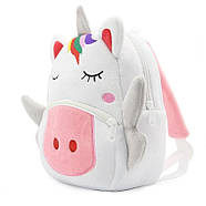 Детский плюшевый рюкзак Kakoo Единорог (оригинал), фото 3