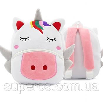 Детский плюшевый рюкзак Kakoo Единорог (оригинал)