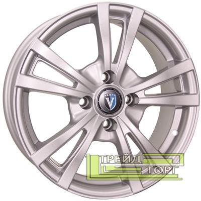 Литий Диск Tech Line TL1404 5.5x14 4x100 ET35 DIA67.1 Silver (Срібло)