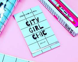 Книга с наклейками Sticker Book City Girl Chic (123194)