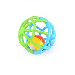 Погремушка детская Baby Mix GW-G106 Мягкий шар, голубой