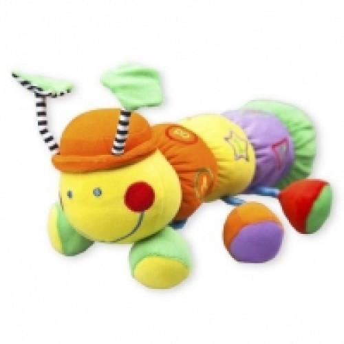 Детская плюшевая игрушка Baby Mix TE-9117-32 Сороконожка, 35 см. (1720)