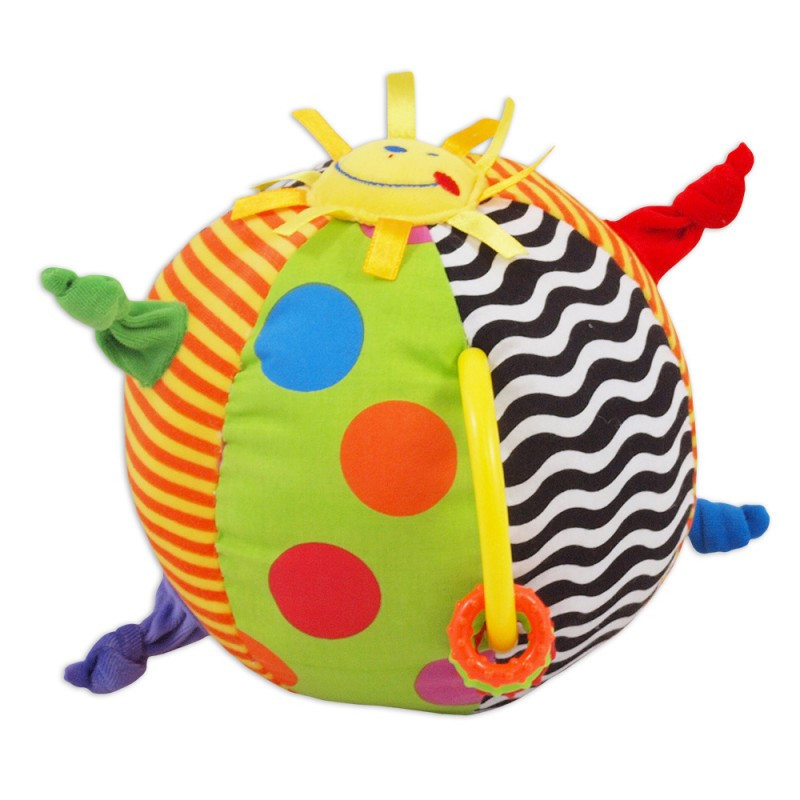 """Плюшевая развивающая игрушка Baby Mix ТЕ-9811-20 """"Мяч"""" (1728)"""