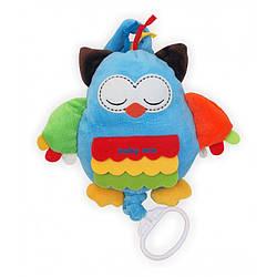 Детская плюшевая игрушка для коляски Baby Mix TE-8063-22 Сова с клипсой (3250)