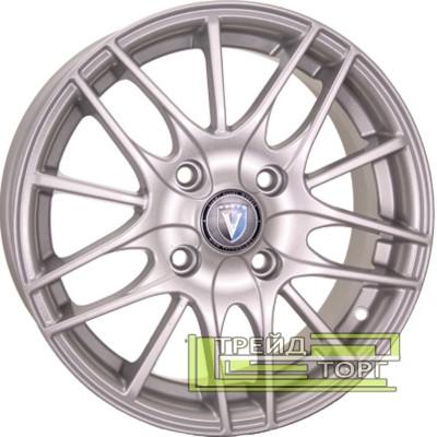 Литой Диск Tech Line TL1406 5.5x14 4x100 ET43 DIA60.1 Silver (Серебро)