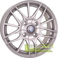 Литий Диск Tech Line TL1406 5.5x14 4x100 ET43 DIA60.1 Silver (Срібло)