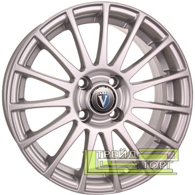 Литой Диск Tech Line TL1507 6x15 4x100 ET32 DIA67.1 Silver (Серебро)