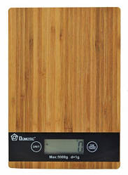 Кухонные электронные деревянные весы до 5 кг (123863)