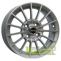 Литой Диск Tech Line TL302 5.5x13 4x98 ET28 DIA58.6 Silver (Серебро)
