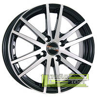 Литой Диск Tech Line TL305 5x13 4x100 ET43 DIA67.1 Black Diamond (Черный глянцевый)