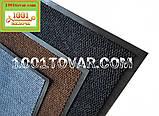 Придверні килимок решіток ворсистий з гумовим кантом 60х40 див., фото 2