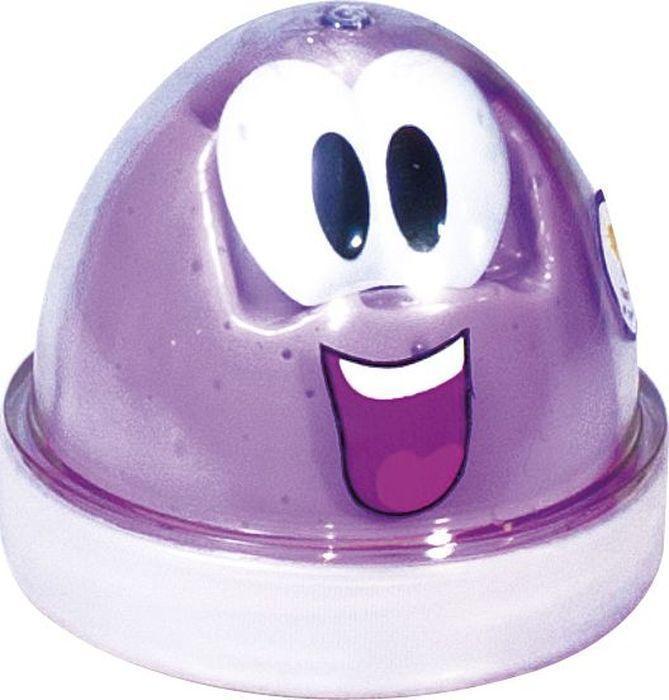 Детский светящийся пластилин для лепки Genio Kids Smart Gum, фиолетовый
