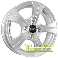 Литой Диск Tech Line TL410 5.5x14 4x100 ET43 DIA60.1 Silver (Серебро)
