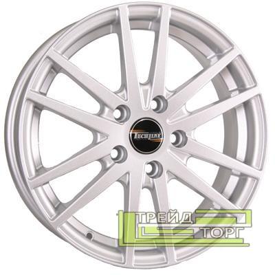 Литий Диск Tech Line TL435 5.5x14 4x100 ET43 DIA67.1 Silver (Срібло)