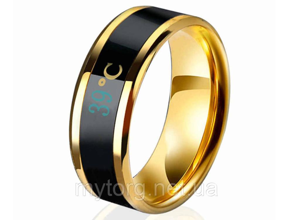 Кольцо- термометр Ailment размер 7 Золотой