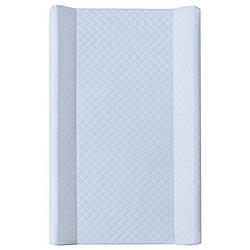 Пеленальная доска непромокаемая мягкая для новорожденных на комод Ceba BabyCaro soft 50х80см., голубая (8573)