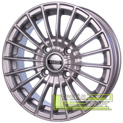 Литий Диск Tech Line TL437 5.5x14 4x98 ET35 DIA58.6 Silver (Срібло)