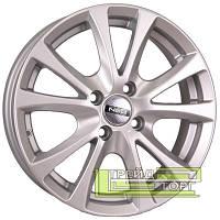 Литой Диск Tech Line TL509 6x15 4x100 ET45 DIA54.1 Silver (Серебро)