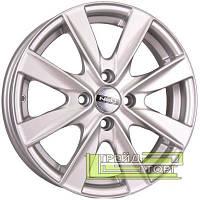 Литий Диск Tech Line TL524 5.5x15 4x100 ET46 DIA60.1 Silver (Срібло)