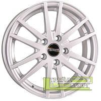 Литой Диск Tech Line TL535 6x15 5x100 ET45 DIA57.1 Silver (Серебро)