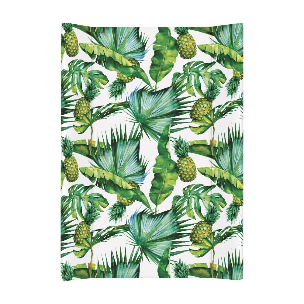 Непромокаемая детская пеленальная доска с бортиками на комод Сeba 70 Flora & Fauna Pina, 50 х 70 см. (9000)