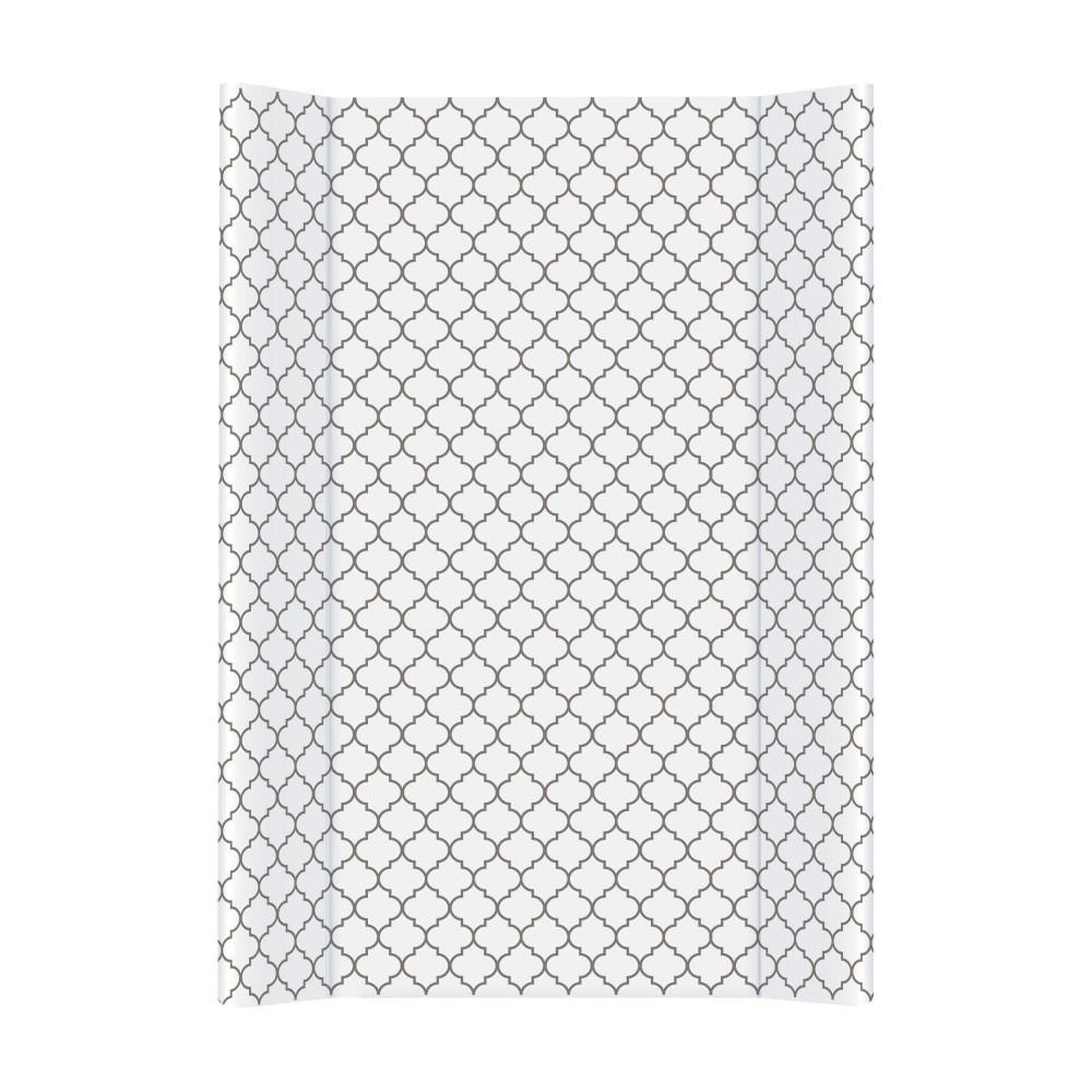 Пеленальная доска с бортиками для ребенка на кровать Ceba 70 Day & Night, Morroccan Clover 50х70 см. (8991)