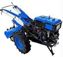 Мотоблок Forte 81GT синий без плуга