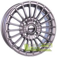Литой Диск Tech Line TL537 6x15 5x112 ET45 DIA57.1 Silver (Серебро)