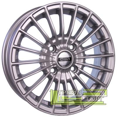 Литий Диск Tech Line TL537 6x15 4x100 ET45 DIA67.1 Silver (Срібло)