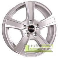 Литий Диск Tech Line TL539 6x15 5x112 ET45 DIA67.1 Silver (Срібло)