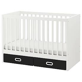IKEA Кроватка детская STUVA / FRITIDS ( 392.675.07)