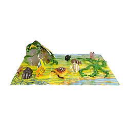 """Детский игрушечный набор""""Динозавры"""" Wing Crown, 16 фигурок (33704)"""