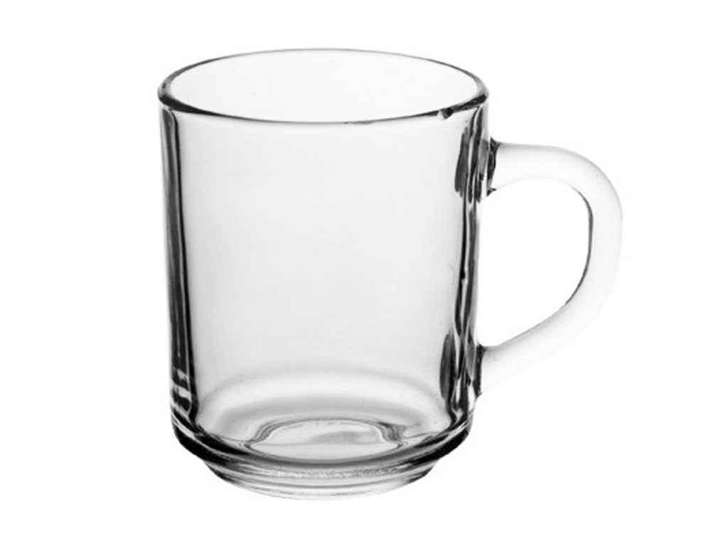 Чашка скляна 250мл прозора Arcopal (6шт в уп) L5304 ТМLUMINARC