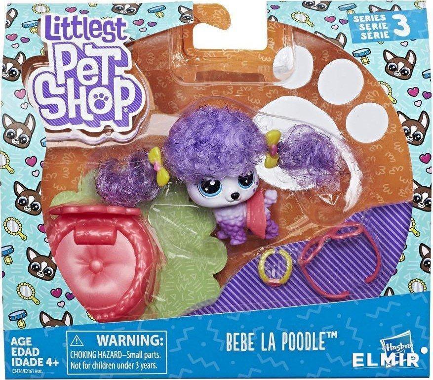 Набор игрушек детский Hasbro Littlest Pet Shop премиум Петы