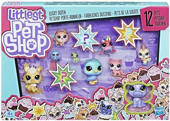 """Набор фигурок Littlest Pet Shop (Lps) Коллекция петов """"Счастливые питомцы"""" 12 зверюшек, Hasbro (E3034_E5161)"""
