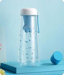 Бутылка для воды Лапа, мятная (124009)