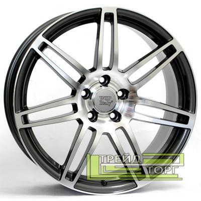 Литой Диск WSP Italy Audi (W557) S8 Cosma Two 7.5x17 5x112 ET28 DIA66.6 Anthracide polish