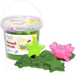Набор для детского творчества Умный песок 1, Зеленый (SSR104)