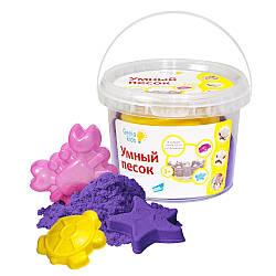 Набор для детского творчества  GENIO KIDS Умный песок 0,5, фиолетовый (SSR052)