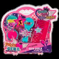 """Детский набор косметики для девочек QUNXING """"Мелки для волос"""""""