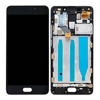 Дисплей для Meizu M6 Note M721H Оригинал Черный с сенсором и рамкой