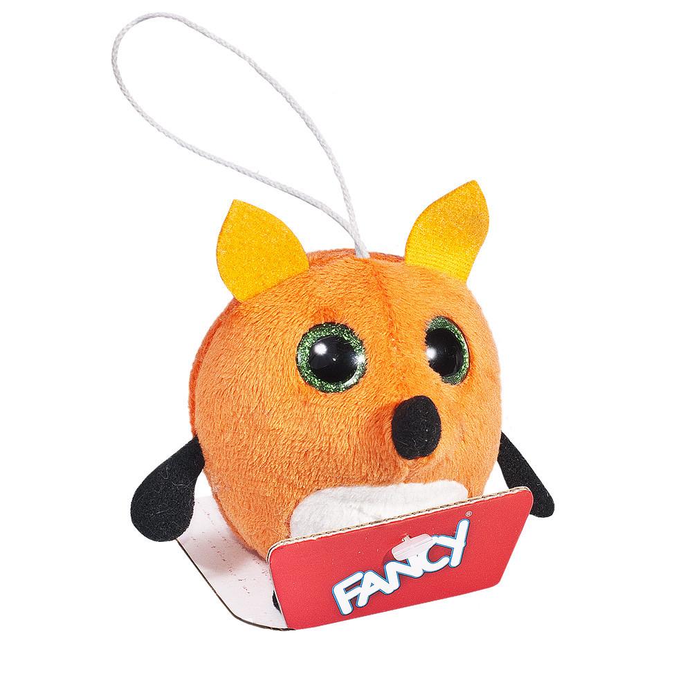 Мягкая игрушка-брелок Fancy,  Глазастик Лиса (GIU0)